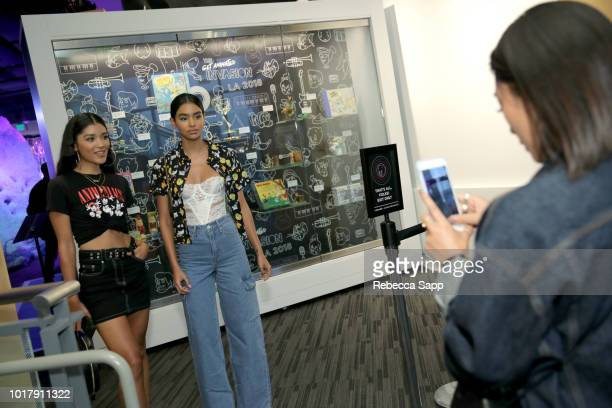 A general view of atmosphere at The Get Animated Invasion VIP Preview at The GRAMMY Museum on August 16 2018 in Los Angeles California