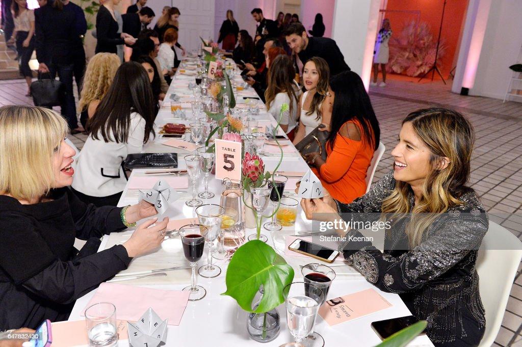 Girlboss + American Express Platinum Collective Dinner : News Photo