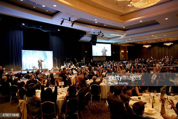 A general view of atmosphere at the Global Green USA 19th Annual Millennium Awards on June 6 2015 in Century City California