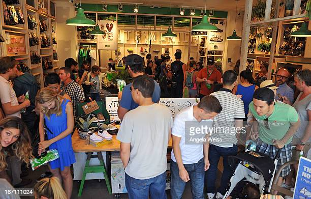 A general view of atmosphere at the grand opening of Sanuk's Flagship store with a jam sessions by musical artist and Sanuk ambassador Lukas Nelson...
