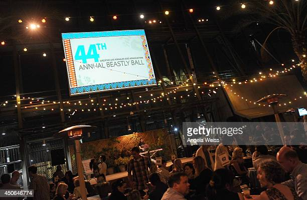General view of atmosphere at the Greater Los Angeles Zoo Association 44th Annual Beastly Ball at Los Angeles Zoo on June 14, 2014 in Los Angeles,...