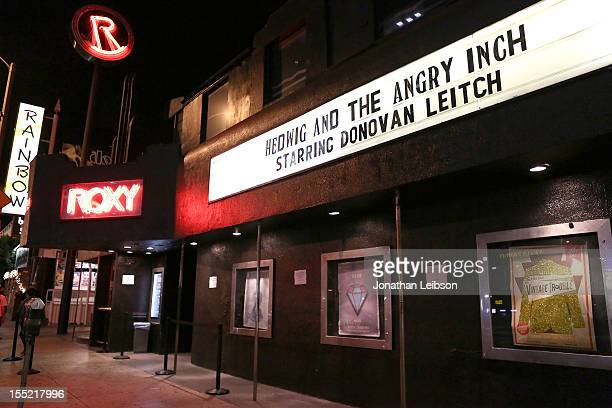 A general view of atmosphere at the Hedwig And The Angry Inch Los Angeles Opening Night at The Roxy Theatre on November 1 2012 in West Hollywood...