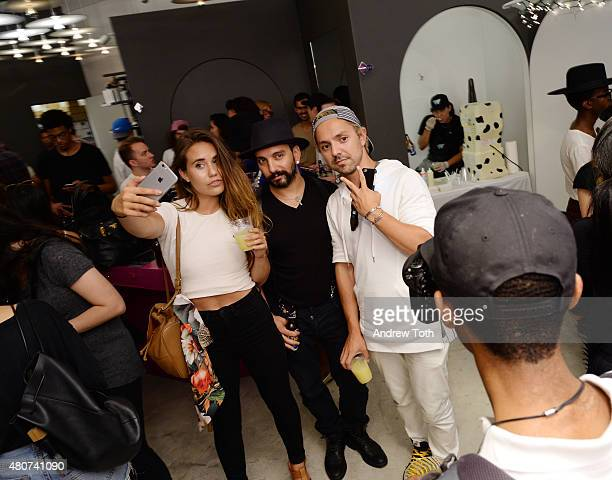 A general view of atmosphere at the Homme Plisse Issey Miyake launch event during New York Fashion Week Men's S/S 2016 at Opening Ceremony on July 14...