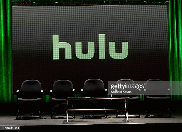 General view of atmosphere at the Hulu 2013 Summer TCA Tour at The Beverly Hilton Hotel on July 31, 2013 in Beverly Hills, California.