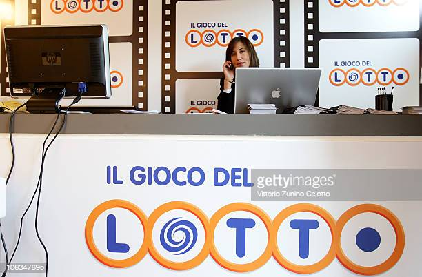A general view of atmosphere at the Il Gioco del Lotto stand during The 5th International Rome Film Festival on October 29 2010 in Rome Italy