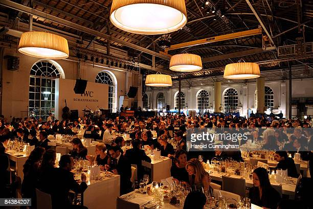 General view of atmosphere at the IWC Schaffhausen Party during the Salon International de la Haute Horlogerie at Geneva Palexpo on January 20, 2009...