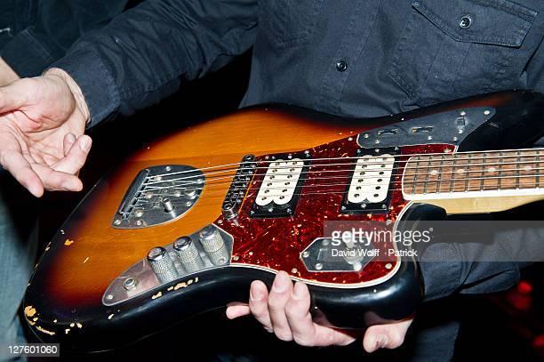 General view of atmosphere at the 'Jaguar Kurt Cobain by Fender' Guitar Launch At 114 Bar on September 29 2011 in Paris France