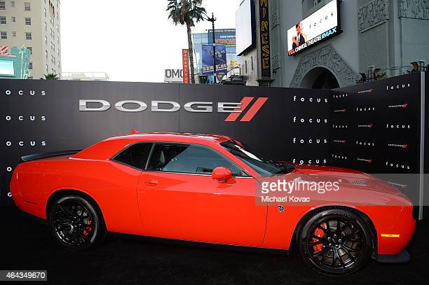 General view of atmosphere at the Los Angeles Premiere of 'Focus' Sponsored By Dodge at TCL Chinese Theatre on February 24 2015 in Hollywood...