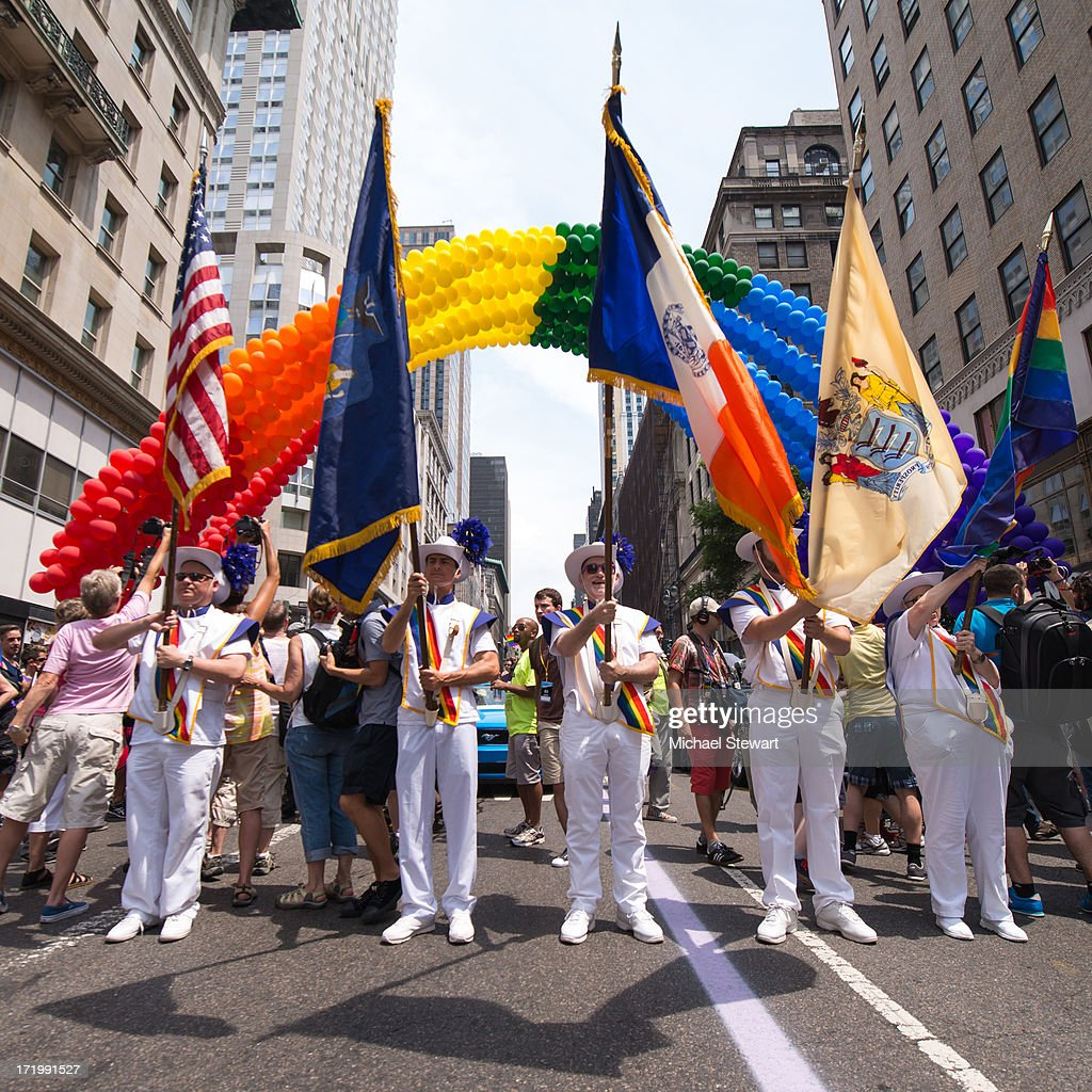 NYC Pride 2013 - The March : ニュース写真