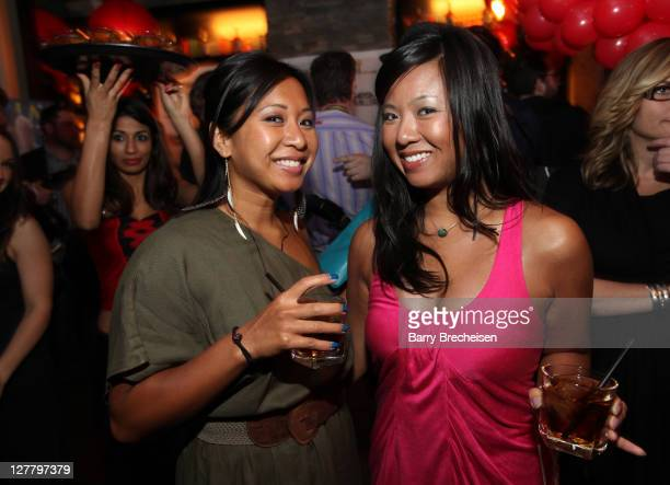 A general view of atmosphere at the Marisa Miller and Maxim Host Legendary Birthday Party for Captain Morgan at Public House on May 13 2011 in...