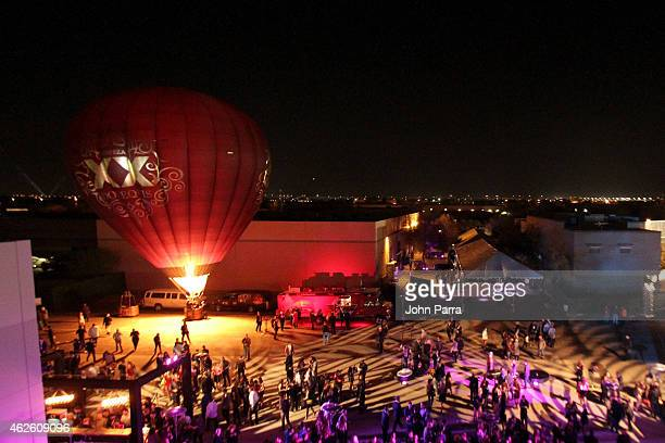 General view of atmosphere at the Maxim Party with Johnnie Walker Timex Dodge Hugo Boss Dos Equis Buffalo Jeans Tabasco and popchips on January 31...