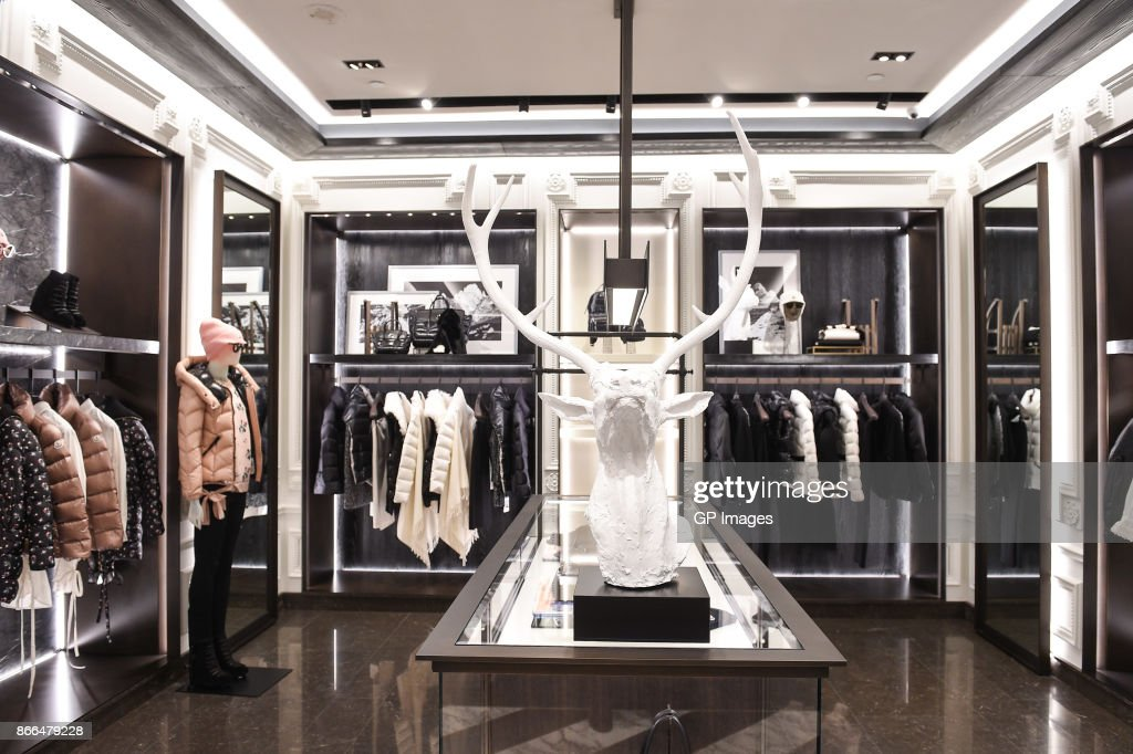 Moncler Celebrates The Grand Opening Of Toronto Boutique : ニュース写真