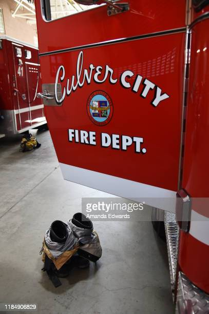General view of atmosphere at the MOVEMBER Kickoff Event with Tarek El Moussa and Jason O'Mara at the Culver City Fire Department Station 1 on...