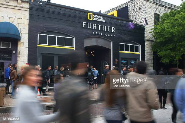 A general view of atmosphere at the 'Nat Geo Further Base Camp' At SXSW 2017 Day 3 on March 12 2017 in Austin Texas