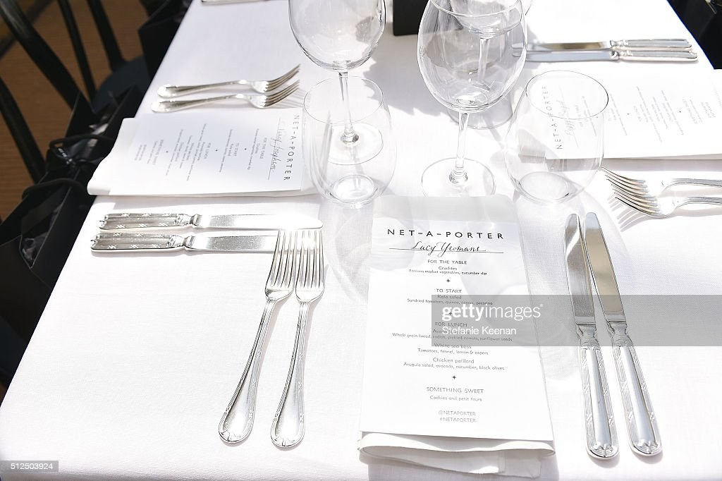General view of atmosphere at the NET-A-PORTER Celebrates Women Behind The Lens at Chateau Marmont on February 26, 2016 in Los Angeles, California.