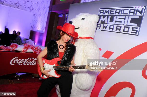A general view of atmosphere at the official 2014 American Music Awards after party at the at Nokia Theatre LA Live on November 23 2014 in Los...