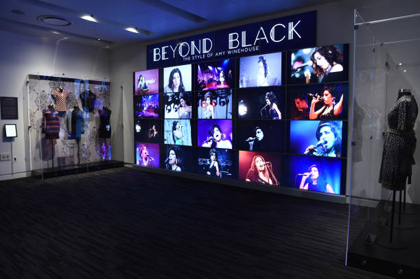 """CA: Opening Night Of The Grammy Museum Exhibit """"Beyond Black - The Style Of Amy Winehouse"""""""