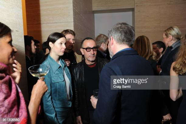 A general view of atmosphere at the opening of The XI Gallery With Bjarke Ingels Es Devlin and Helene Ziel Feldman on April 25 2018 in New York City