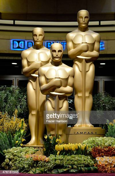 General view of atmosphere at the Oscars held at Hollywood Highland Center on March 2 2014 in Hollywood California