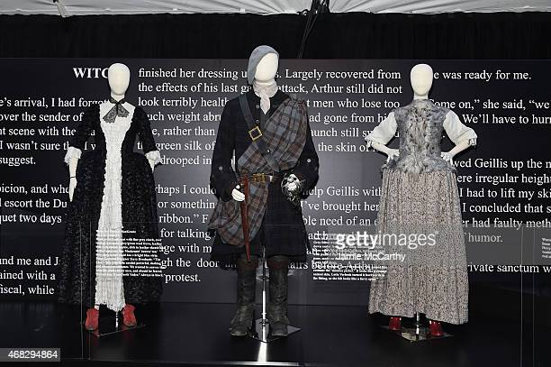 """General view of atmosphere at the """"Outlander"""" mid-season New York premiere at Ziegfeld Theater on April 1, 2015 in New York City."""