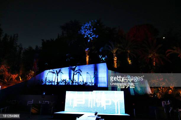 General view of atmosphere at the Porsche Design's 40th Anniversary Event held at a private residence on September 4, 2012 in Los Angeles, California.