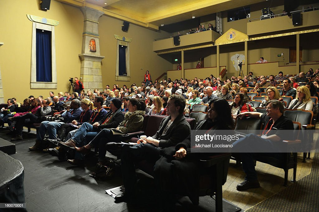 A general view of atmosphere at the Power Of Story: Measure For Measure Panel during the 2013 Sundance Film Festival at Egyptian Theatre on January 25, 2013 in Park City, Utah.