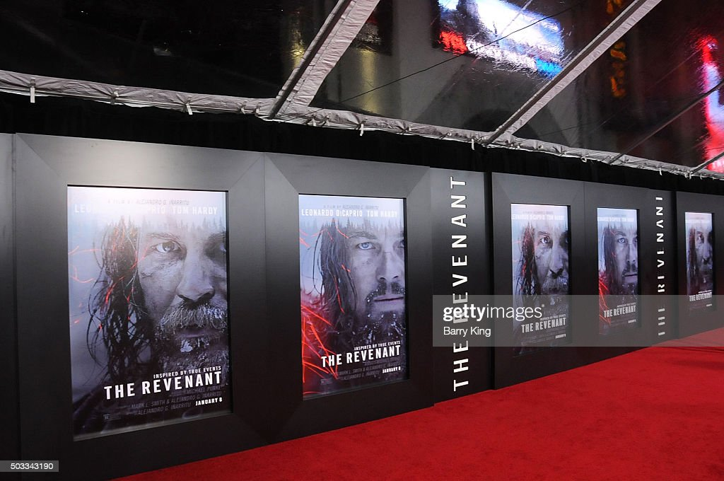"Premiere Of 20th Century Fox And Regency Enterprises' ""The Revenant"" - Arrivals : News Photo"