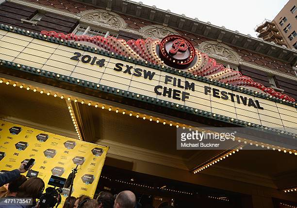A general view of atmosphere at the premiere of 'Chef' during the 2014 SXSW Music Film Interactive Festival at the Paramount Theatre on March 7 2014...