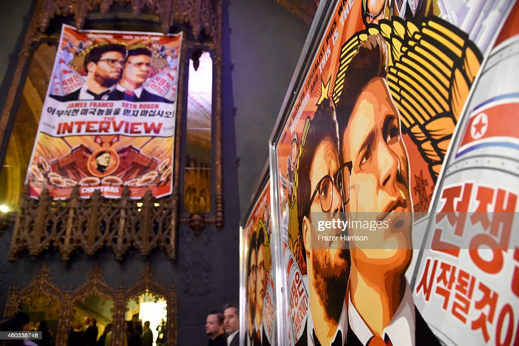 """Premiere Of Columbia Pictures' """"The Interview"""" - Arrivals : News Photo"""