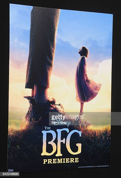 A general view of atmosphere at the premiere of Disney's' 'The BFG' at the El Capitan Theatre on June 21 2016 in Hollywood California