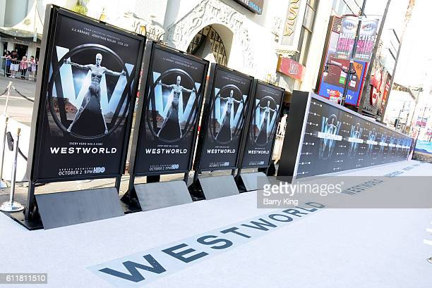 A general view of atmosphere at the premiere of HBO's 'Westworld' at TCL Chinese Theatre on September 28 2016 in Hollywood California