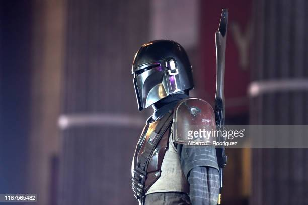 A general view of atmosphere at the premiere of Lucasfilm's firstever liveaction series The Mandalorian at the El Capitan Theatre in Hollywood Calif...