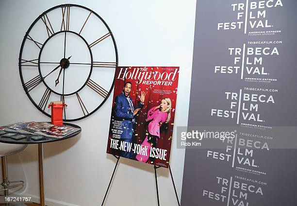 A general view of atmosphere at the Producers Reception during the 2013 Tribeca Film Festival April 22 2013 in New York City