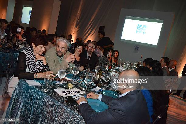A general view of atmosphere at the Project Angel Food's 25th Anniversary Angel Awards 2014 honoring Aileen Getty with the Inaugural Elizabeth Taylor...