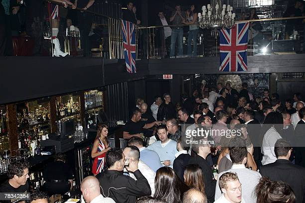 A general view of atmosphere at the Ricky Hatton PostFight party at Hard Rock's Body English Nightclub on December 8 2007 in Las Vegas Nevada