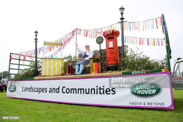 A general view of atmosphere at The Royal Cornwall Show at The Royal Cornwall Showground on June 7 2018 in Wadebridge England