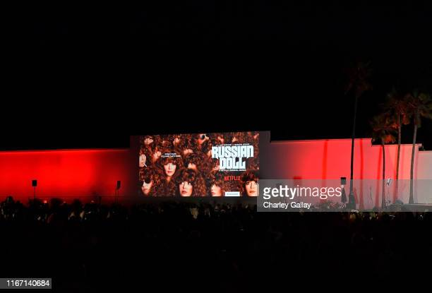 General view of atmosphere at the 'Russian Doll' Screening and Reception at Hollywood Forever on August 09, 2019 in Hollywood, California.