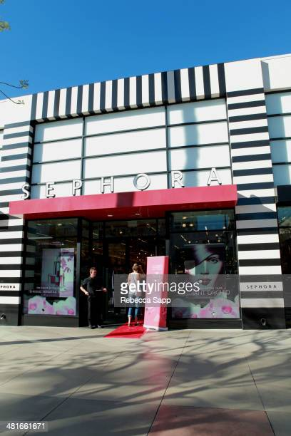 A general view of atmosphere at the Sephora VIB Rouge Spring Social at Sephora Santa Monica on March 30 2014 in Santa Monica California