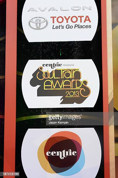 A general view of atmosphere at the Soul Train Awards 2013 at the Orleans Arena on November 8 2013 in Las Vegas Nevada