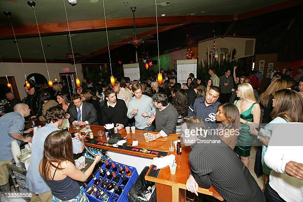 A general view of atmosphere at the Super Skins Kickoff Party hosted by Nick Lachey and Jimmie Johnson at the Hula Bay Club on January 30 2009 in...