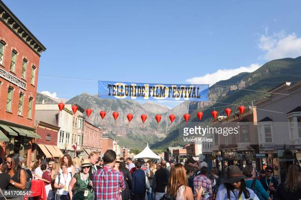 A general view of atmosphere at the Telluride Film Festival 2017 on September 1 2017 in Telluride Colorado