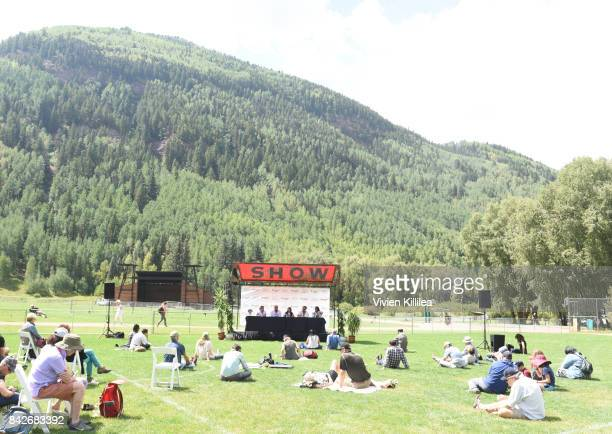 A general view of atmosphere at the Telluride Film Festival 2017 on September 2 2017 in Telluride Colorado