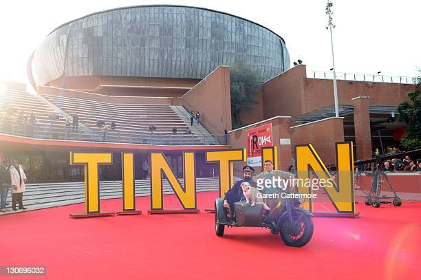 A general view of atmosphere at the The Adventures Of Tin Tin premiere during the 6th International Rome Film Festival on October 28 2011 in Rome...