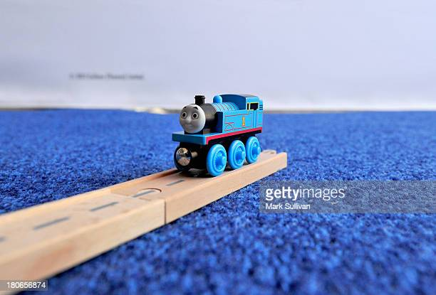 """General view of atmosphere at the """"Thomas & Friends: King of the Railway"""" blue carpet premiere at The Grove on September 15, 2013 in Los Angeles,..."""