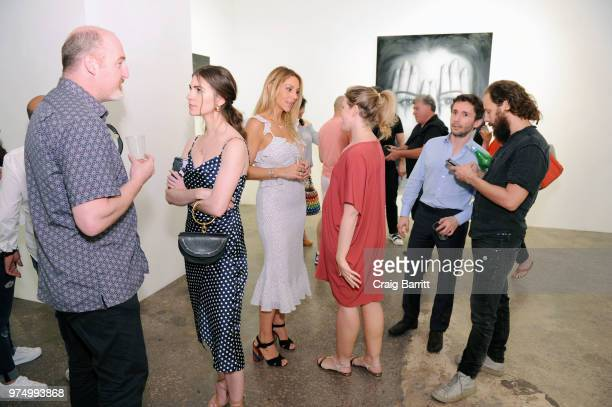 A general view of atmosphere at the Tigran Tsitoghdzyan 'Uncanny' show at Allouche Gallery on June 14 2018 in New York City