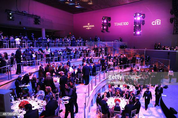 A general view of atmosphere at the TIME 100 Gala TIME's 100 most influential people in the world at Jazz at Lincoln Center on April 29 2014 in New...