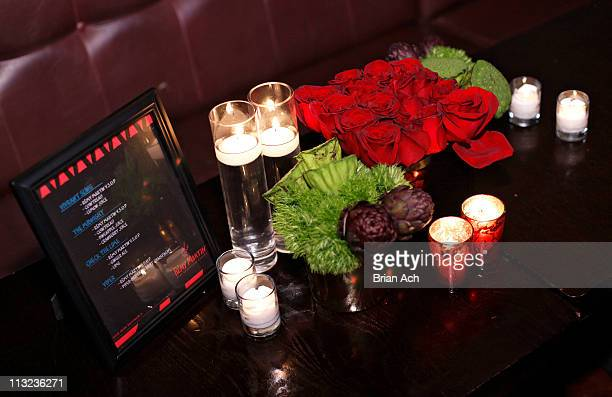 A general view of atmosphere at the Tribeca premiere of Beats Rhymes Life The Travels of a Tribe Called Quest celebrated by Remy Martin Cognac at The...