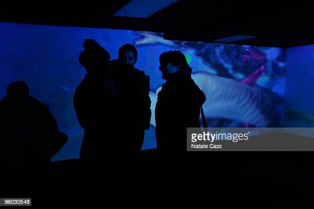 General view of atmosphere at the Unveiling of the Creative Potential during the 2010 Sundance Film Festival at Sundance House on January 22 2010 in...