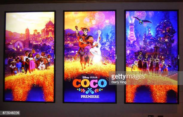 A general view of atmosphere at the US Premiere of Disney Pixar's 'Coco' at El Capitan Theatre on November 8 2017 in Los Angeles California