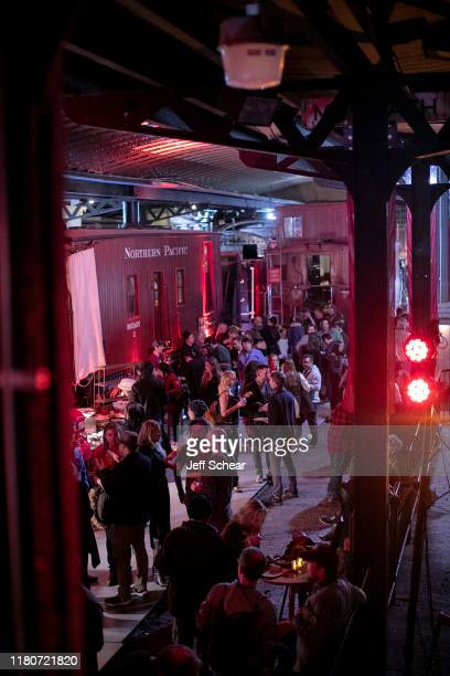 A general view of atmosphere at the VIP Party Sponsored by Abrams Artists Agency at The Lake Superior Railroad Museum on October 12 2019 in Duluth...